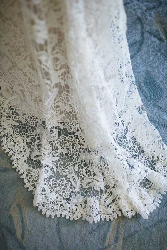Wedding Gown, Detail wedding gown, lace wedding Gown