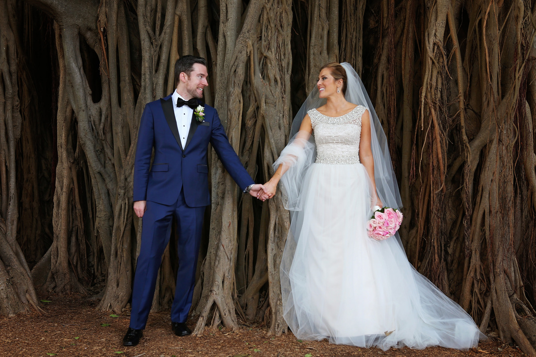 Bride and Groom Photos, wedding photographers, Black and whiter wedding photos, romi burianova, weddings by romi, destination wedding photographers, Banya Tree in Key West picture