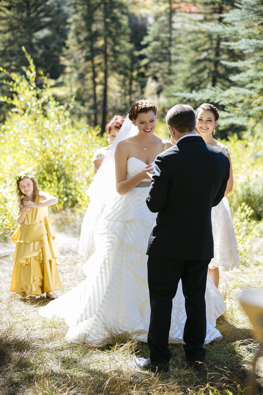 Aspen wedding picture, country wedding, destination wedding, ceremony