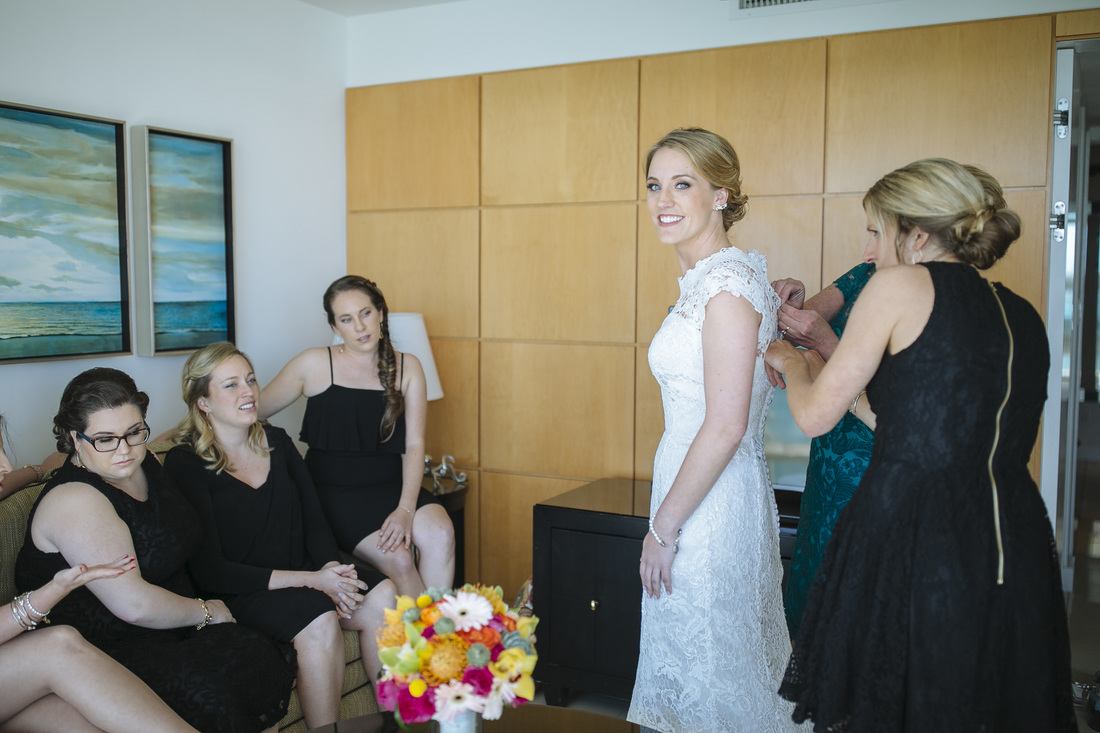 Bride Getting Ready Picture, Pier House Resort Key West, Key West Photography