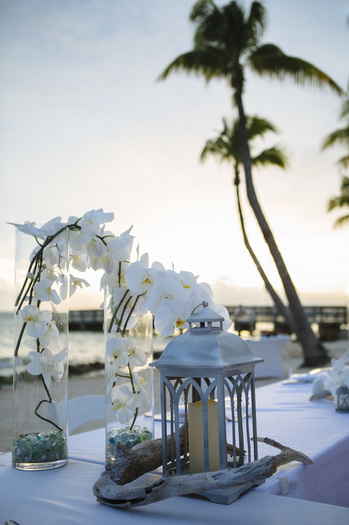 casa marina wedding decoration, key west florist