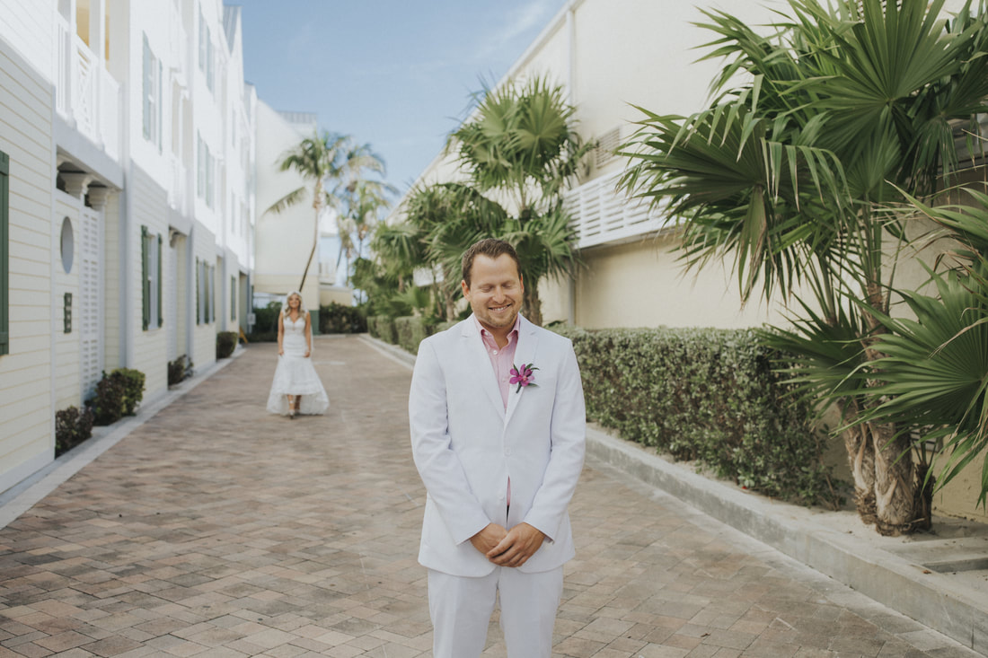 southernmost beach resort, weddings by romi, key west wedding photographers, key west wedding photography, getting ready photos, beach wedding, florida keys weddings, wedding venue, the first look picture