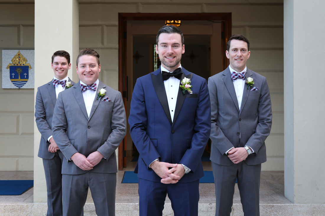 Groom and Groomsman Picture