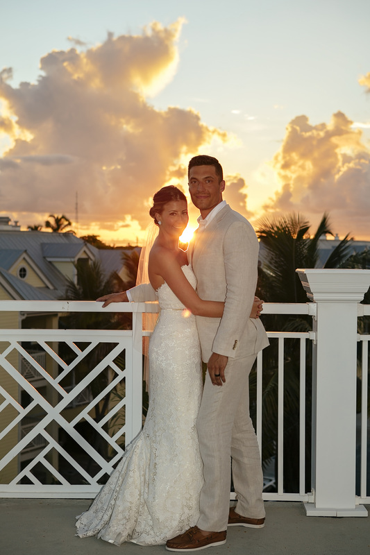 the reach hotel key west, waldorf astoria hotel picture, dramatic sky, beach wedding, wedding at the beach, key west wedding photographer, key west wedding photography, wedding ceremony, key west wedding vendors, sunset wedding photo