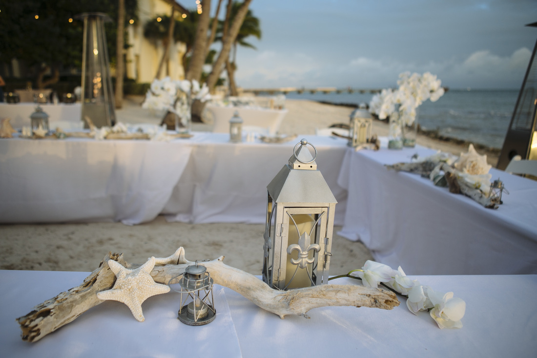 casa marina wedding decoration