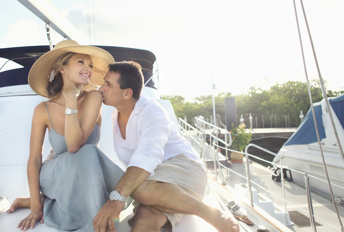 Engagement Pictures in Key West, Nautical engagement Picture, Key West Photographer, Weddings By Romi