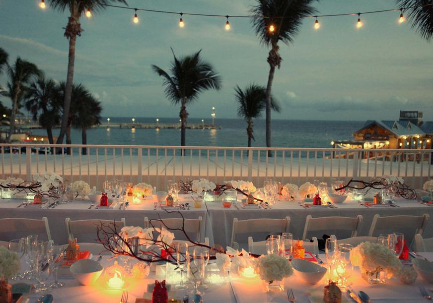 The Reach Hotel Waldorf Astoria Asian Wedding Chines Ceremony Key West