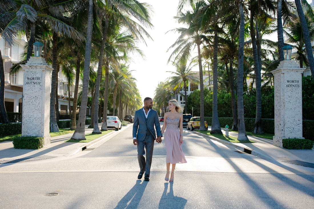 Worth Avenue,  Palm beach engagement, Palm beach wedding photographer, Palm beach wedding photography, Weddings By Romi, Engagement photos, Celebrity engagement photo shoot, Wedding Ring,