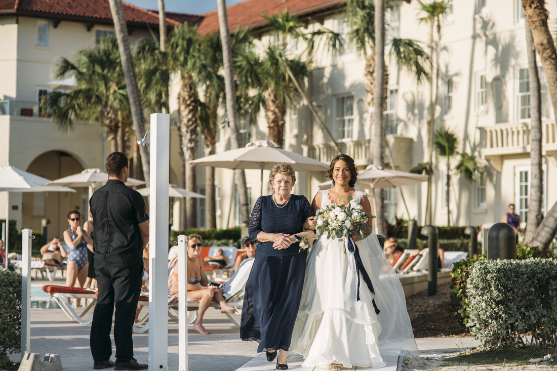 ceremony pictures, key west beach wedding, casa marina wedding photos, casa marina resort, weddings by romi, key west wedding photographer, key west wedding photography