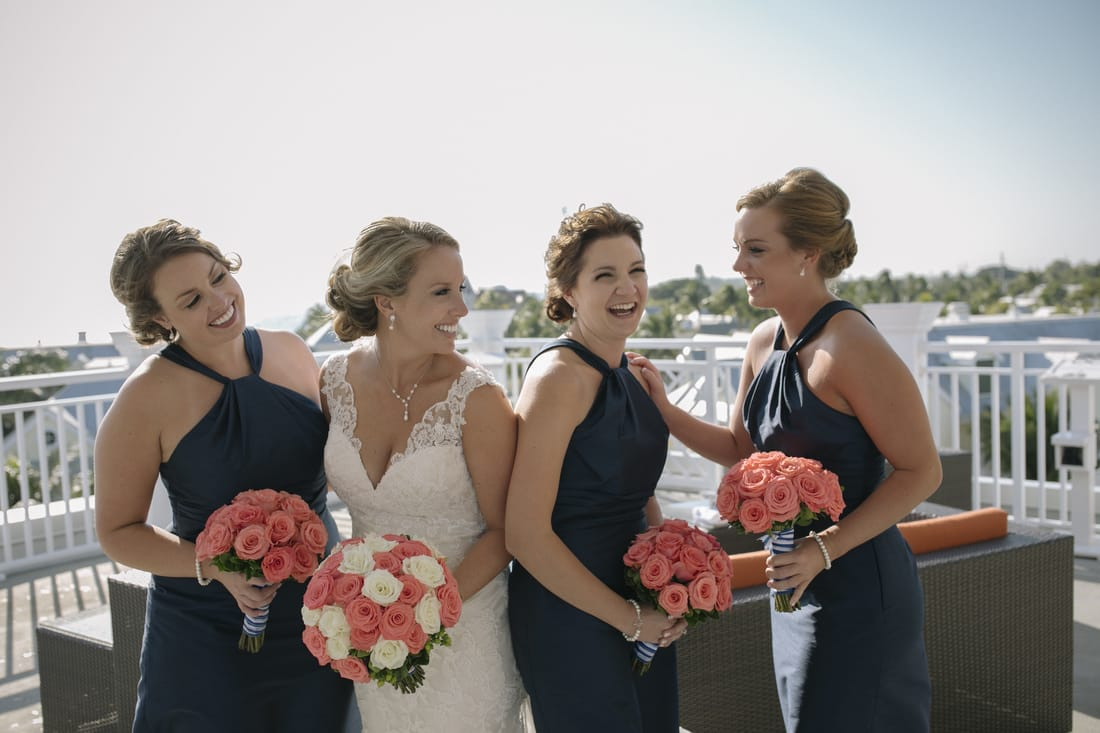 Weddings By Romi, The Reach Hotel Weddings, Beach Weddings, Florida Keys Weddings, Key West wedding photographer, Key West Wedding photography, Destination Wedding, Bridesmaids Picture