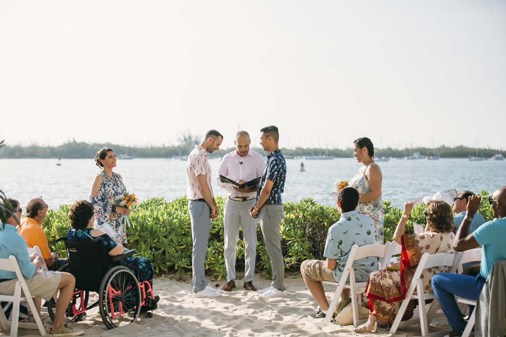 Pier House Resort photo, beach wedding, gay wedding, same sex marriage, tropical wedding photo, two guys wedding photo, key west wedding photography,key wedding wedding photographer, destination wedding