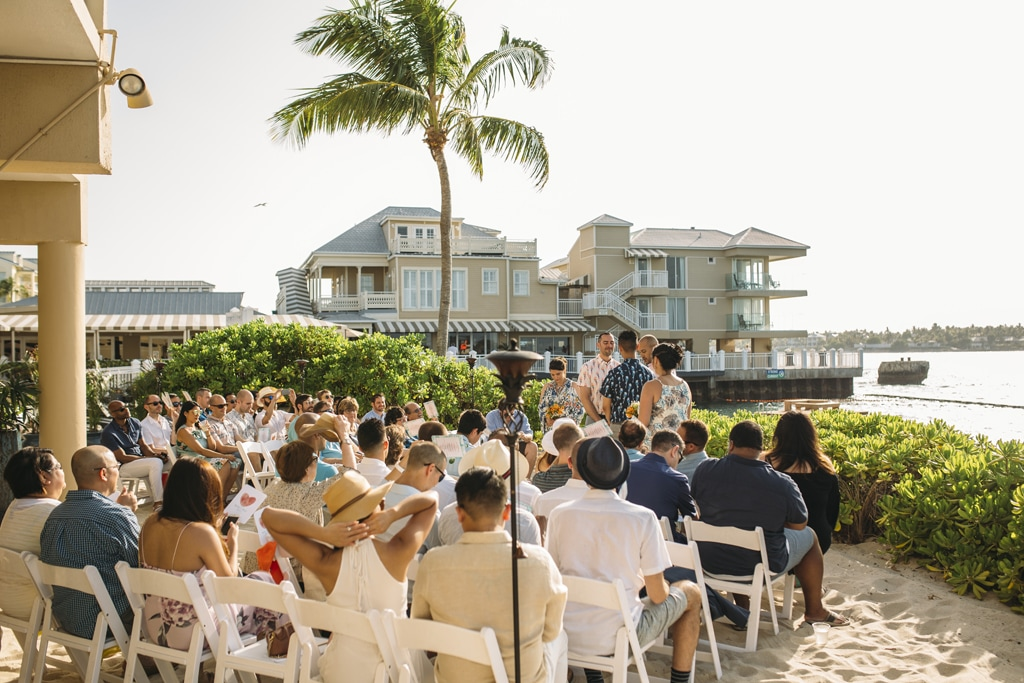 Pier House Resort photo, beach wedding, gay wedding, same sex marriage, tropical wedding photo, two guys wedding photo, key west wedding photography,key wedding wedding photographer, destination wedding, Beach ceremony